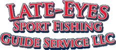 Late Eyes Sport Fishing Logo
